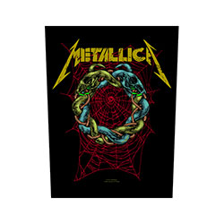 Metallica Back Patch: Tangled Web