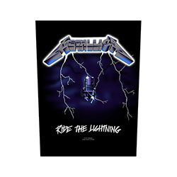 Metallica Back Patch: Ride the Lightning