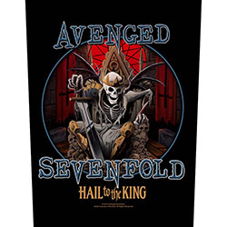 Avenged Sevenfold Back Patch: Hail To The King