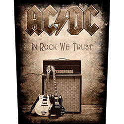 AC/DC Back Patch: In Rock We Trust