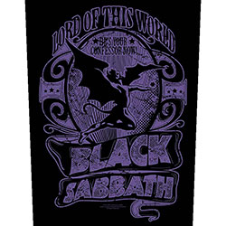 Black Sabbath Back Patch: Lord Of This World