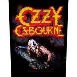 Ozzy Osbourne Back Patch: Bark At The Moon