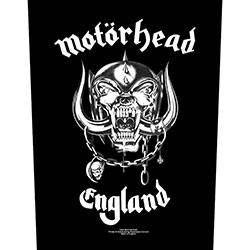 Motorhead Back Patch: England