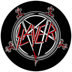 Slayer Back Patch: Pentagram