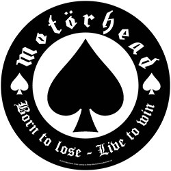 Motorhead Back Patch: Born To Lose