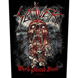 Slayer Back Patch: World Painted Blood