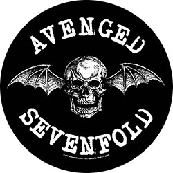 Avenged Sevenfold Back Patch: Death Bat