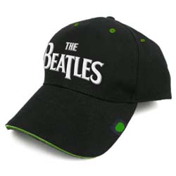 The Beatles Men's Baseball Cap: Drop T with Badge