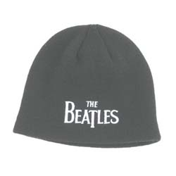 The Beatles Men's Beanie Hat: Drop T Logo