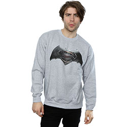 DC Comics Men's Sweatshirt: Batman v Superman Logo