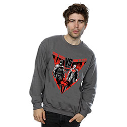 DC Comics Men's Sweatshirt: Batman v Superman Battle