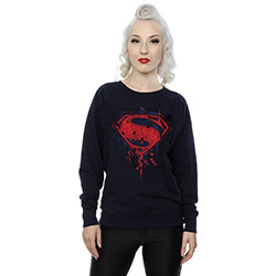 DC Comics Ladies Sweatshirt: Batman v Superman Geo Logo