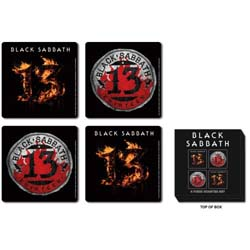 Black Sabbath Coaster Set: 13