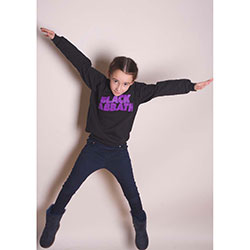 Black Sabbath Kids Youth's Fit Sweatshirt: Wavy Logo
