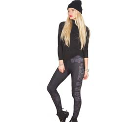 Black Sabbath Ladies Fashion Leggings: Celtic Logo