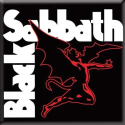 Black Sabbath Fridge Magnet: Daemon
