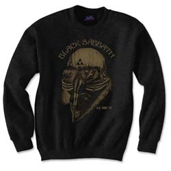 Black Sabbath Men's Sweatshirt: US Tour 1978