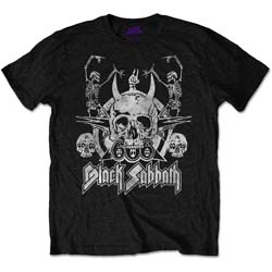 Black Sabbath Men's Tee: Dancing