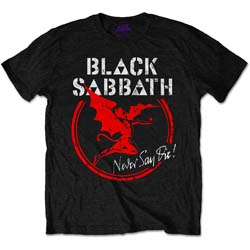 Black Sabbath Men's Tee: Archangel Never Day Die