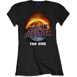Black Sabbath Ladies Tee: The End