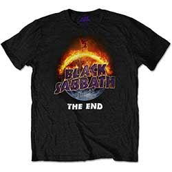Black Sabbath Men's Tee: The End
