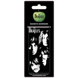 The Beatles Magnetic Bookmark: Illustrated Faces