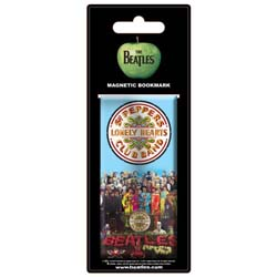 The Beatles Magnetic Bookmark: Sgt Pepper