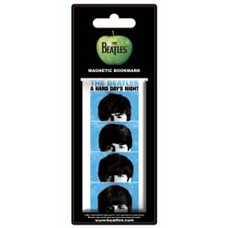 The Beatles Magnetic Bookmark: Hard Days Night Film