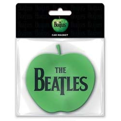 The Beatles Rubber Magnet: Apple with Rubberised Finish