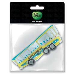 The Beatles Rubber Magnet: Magical Mystery Tour with Rubberised Finish