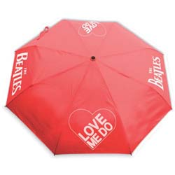 The Beatles Umbrella: Love Me Do with Retractable Fitting