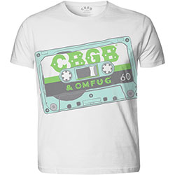 CBGB Men's Tee: Tape (Sublimation)