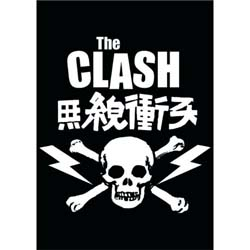 The Clash Postcard: Skull & Crossbones (Standard)
