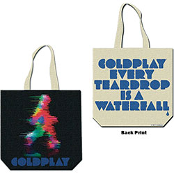 Coldplay Cotton Tote: Fuzzy Man