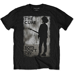 The Cure Men's Tee: Boys Don't Cry Black & White
