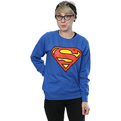 DC Comics Ladies Sweatshirt: Superman Logo