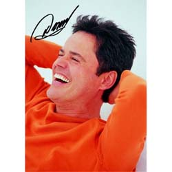 Donny Osmond Postcard: Laughing (Standard)