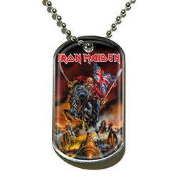Iron Maiden Dog Tags: Maiden England