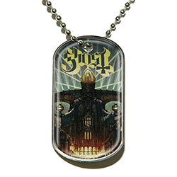 Ghost Dog Tag Pendant: Meliora