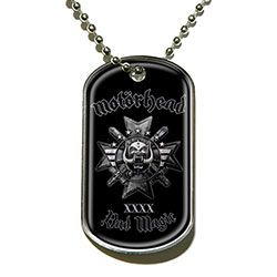 Motorhead Dog Tag Pendant: Bad Magic