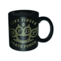 Five Finger Death Punch Boxed Mini Mug: Brass Knuckle