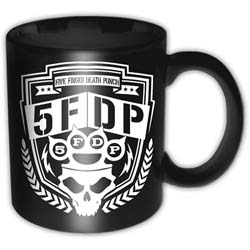 Five Finger Death Punch Boxed Premium Mug: Shield