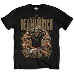Five Finger Death Punch Men's Tee: Sgt Major