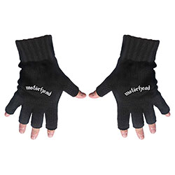 Motorhead Men's Fingerless Gloves: Logo