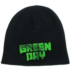 Green Day Men's Beanie Hat: Logo