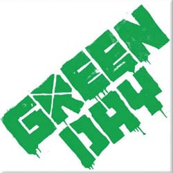 Green Day Fridge Magnet: Logo