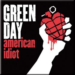 Green Day Fridge Magnet: American Idiot