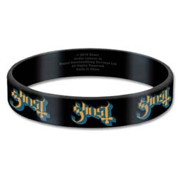 Ghost Gummy Wristband: Logo