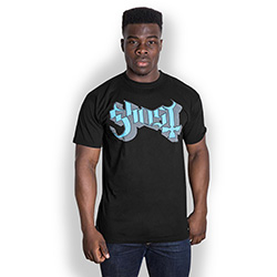 Ghost Men's Tee: Blue/Grey Keyline Logo