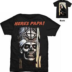 Ghost Men's Tee: Here's Papa with Back Printing
